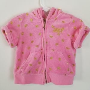 Juicy Couture Pink Hooded Jacket